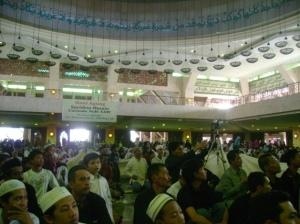Suasana Peringatan Arbain 1430 H di Masjid At-Tin