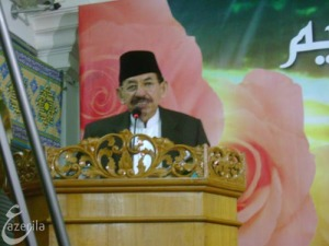 Prof. DR. H. Umar Shihab (Ketua MUI)