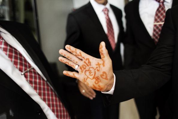 PALESTINIAN-SOCIETY-WEDDING
