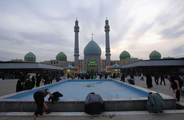 Iranian Shiites Pray For Return Twelfth Imam