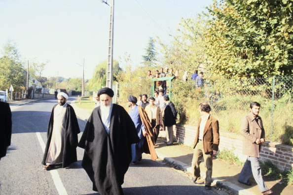 UNSPECIFIED - JANUARY 01:  Ayatollah Ruhollah Khomeini, Supreme Leader Of Iran In 1978  (Photo by Keystone-France/Gamma-Keystone via Getty Images)