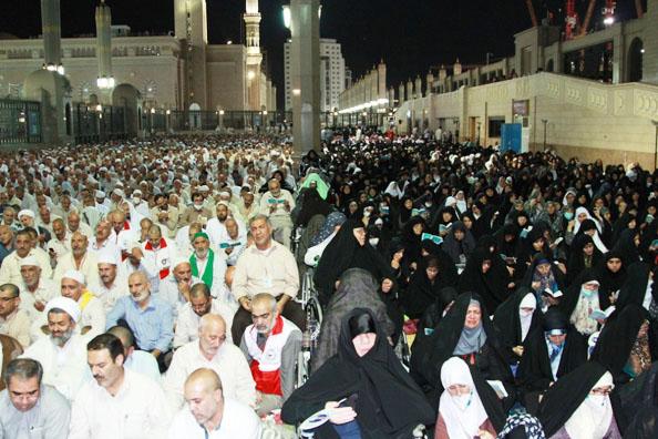 Doa Kumail di Masjid Nabawi