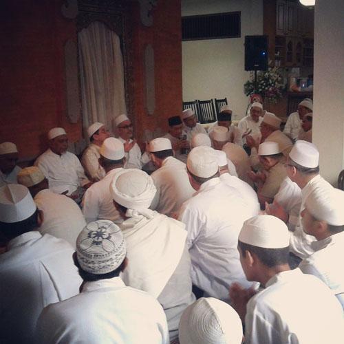 Tahlil almarhumah Syarifah Zenah Alatas