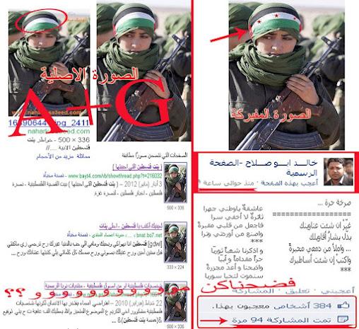 Wanita pejuang Palestina disulap menjadi bendera pemberontak Suriah