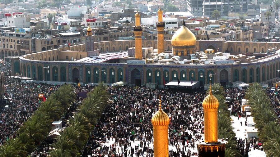 Para Peziarah Imam Husain