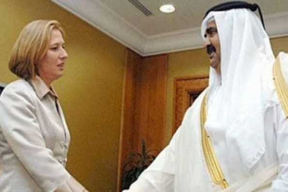 Tzipi Livni dan Emir Qatar yg disebut memiliki skandal