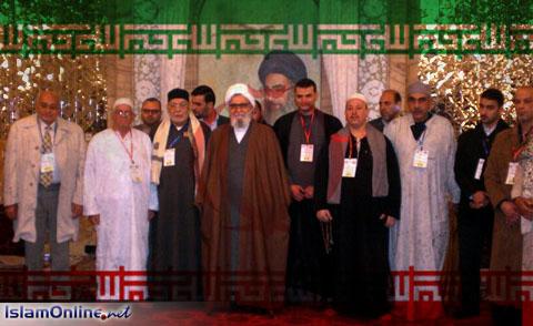 Delegasi sufi Mesir di Iran