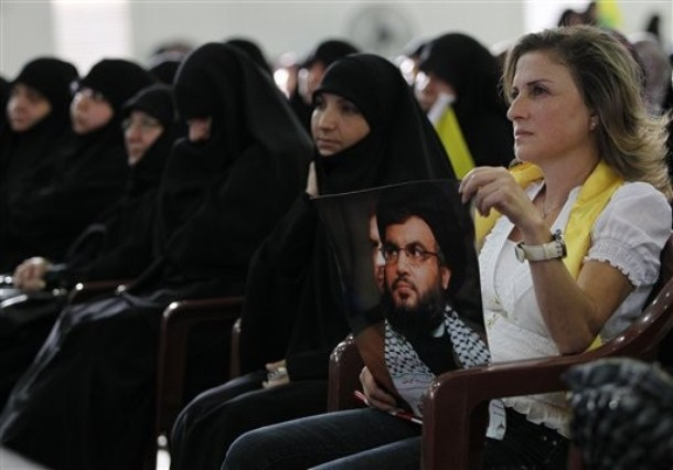 Randa Gholam menghadiri Hari Al-Quds (AP Photo/Hussein Malla)