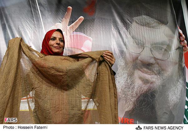 Reem Haidar di Tehran (FARS/Hossein Fatemi)