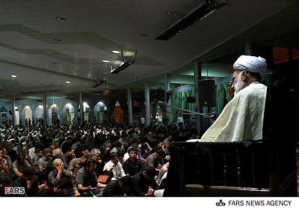 Malam ke-19 Ramadan di Arak, Iran