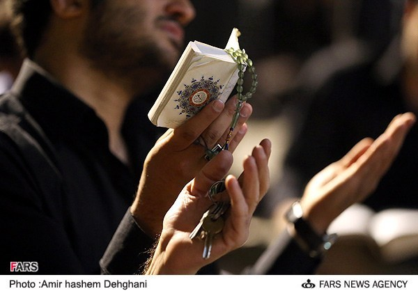 Malam ke-21 Ramadan di Mahdieh Imam Hasan