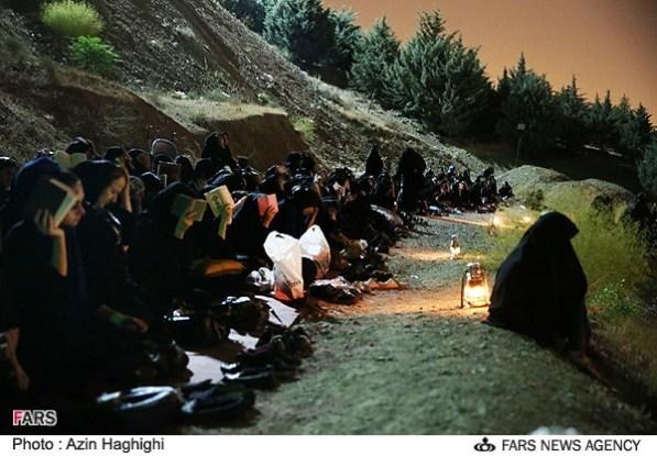 Menghidupkan malam Ramadan di perbukitan Kahf Shohada