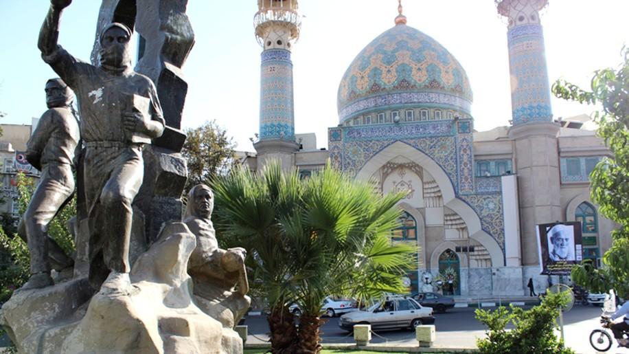 Felestin Square, Tehran