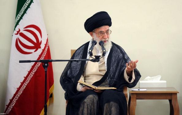 Ali Khamenei meets with Hassan Rouhani